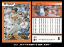 2001 Donruss Baseball's Best Silver #3