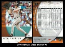 2001 Donruss Class of 2001 #8