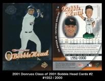 2001 Donruss Class of 2001 Bobble Head Cards #2