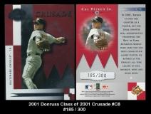 2001 Donruss Class of 2001 Crusade #C8