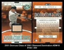 2001 Donruss Class of 2001 Diamond Dominators #DM18