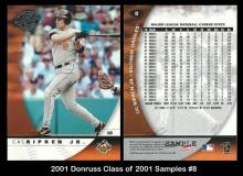 2001 Donruss Class of 2001 Samples #8