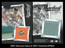 2001 Donruss Class of 2001 Yearbook #YB24