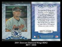 2001 Donruss Diamond Kings #DK2
