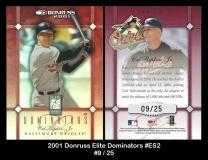 2001 Donruss Elite Dominators #ES2