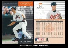 2001 Donruss 1999 Retro #22