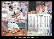 2001 Donruss 2000 Retro #23