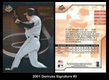 2001 Donruss Signature #3