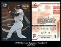 2001 Donruss Signature Proofs #3