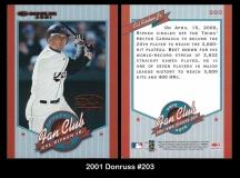 2001 Donruss #203