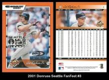 2001 Donruss Seattle FanFest #3