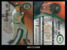2001 E-X #59