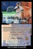 2001 E-X Wall of Fame #24