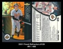2001 Finest Refractors #109