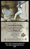 2001 Fleer Authority Diamond Cuts Memorabilia #83 Pants
