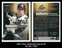 2001 Fleer Authority Figures #7