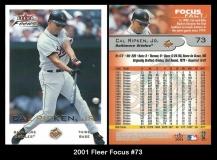 2001 Fleer Focus #73