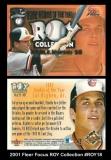 2001 Fleer Focus ROY Collection #ROY18