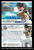 2001 Fleer Futures Bats to the Future #BF14