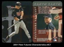 2001 Fleer Futures Characteristics #C7