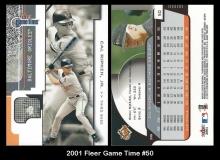2001 Fleer Game Time #50