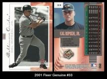 2001 Fleer Genuine #33