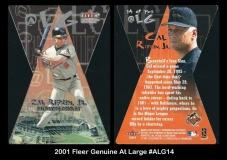 2001 Fleer Genuine At Large #ALG14