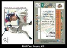 2001 Fleer Legacy #19