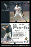 2001 Fleer Premium Solid Performers #SP11