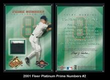 2001 Fleer Platinum Prime Numbers #2