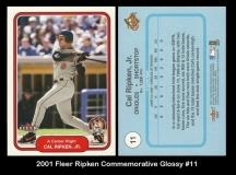 2001 Fleer Ripken Commemorative Glossy #11