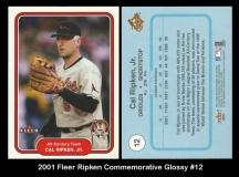 2001 Fleer Ripken Commemorative Glossy #12