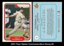 2001 Fleer Ripken Commemorative Glossy #2