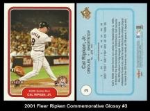 2001 Fleer Ripken Commemorative Glossy #3