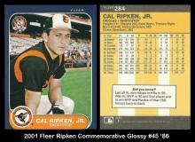 2001 Fleer Ripken Commemorative Glossy #45 '86
