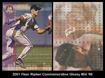 2001 Fleer Ripken Commemorative Glossy #54 '95