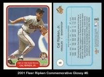 2001 Fleer Ripken Commemorative Glossy #6