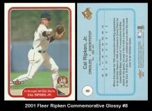2001 Fleer Ripken Commemorative Glossy #8
