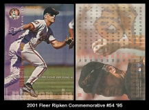 2001 Fleer Ripken Commemorative #54 '95