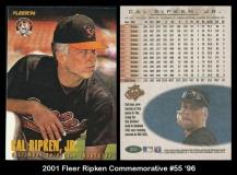 2001 Fleer Ripken Commemorative #55 '96