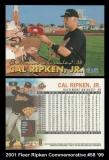 2001 Fleer Ripken Commemorative #58 '99