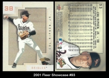2001 Fleer Showcase #93