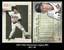 2001 Fleer Showcase Legacy #93