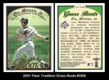 2001 Fleer Tradition Grass Roots #GR9