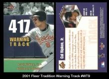 2001 Fleer Tradition Warning Track #WT9