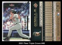 2001 Fleer Triple Crown #46