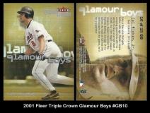 2001 Fleer Triple Crown Glamour Boys #GB10