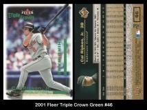 2001 Fleer Triple Crown Green #46