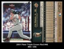 2001 Fleer Triple Crown Red #46