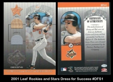 2001 Leaf Rookies and Stars Dress for Success #DFS1